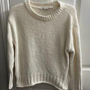 Max Studio Chenille Cozy, Off White Sweater